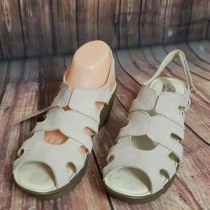Skechers memory foam sandals pink 9.5